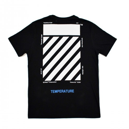 Off-White Temperature Tee Black [HOP Batch]